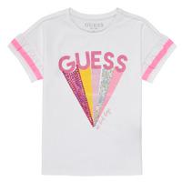textil Niña Camisetas manga corta Guess K1RI04-K6YW1-TWHT Blanco