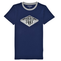 textil Niño Camisetas manga corta Guess L1GI09-K8HM0-DEKB Marino