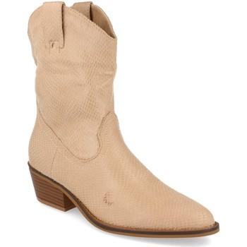 Zapatos Mujer Botines Buonarotti 1A-0339 Beige