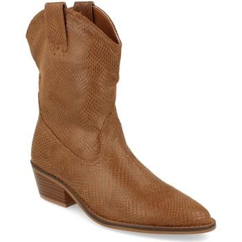 Zapatos Mujer Botines Buonarotti 1A-0339 Camel