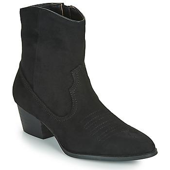 Zapatos Mujer Botines Vanessa Wu  Negro