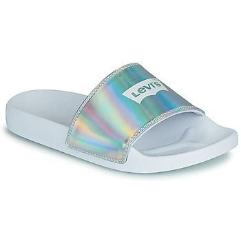 Zapatos Mujer Chanclas Levi's JUNE BATWING S Plata