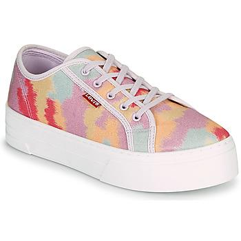 Zapatos Mujer Zapatillas bajas Levi's TIJUANA Multicolor