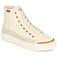 Zapatos Mujer Zapatillas altas Levi's SQUARE HIGH S Blanco