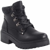 Zapatos Mujer Botas de caña baja Olivina Botín señora BEBY 19002 negro Negro
