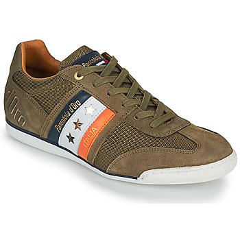 Zapatos Hombre Zapatillas bajas Pantofola d'Oro IMOLA CANVAS UOMO LOW Kaki
