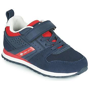 Zapatos Niños Zapatillas bajas Umbro JADER VLC Azul / Rojo