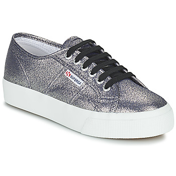 Zapatos Mujer Zapatillas bajas Superga 2730 LAMEW Plata