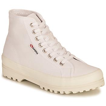 Zapatos Mujer Zapatillas altas Superga 2341 ALPINA COTU Blanco