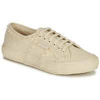 Zapatos Mujer Zapatillas bajas Superga 2750 COTW LACEPIPING Beige