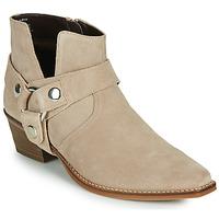 Zapatos Mujer Botas urbanas Steve Madden GOLDA Beige