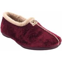 Zapatos Mujer Pantuflas Vulca Bicha Ir por casa señora  4306 burdeos Rojo