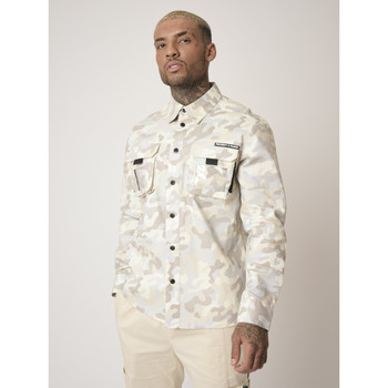 textil Hombre Camisas manga larga Project X Paris  Blanco