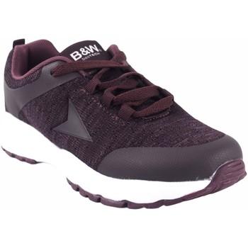 Zapatos Mujer Zapatillas bajas B&w Zapato señora  28113 burdeos Rojo