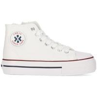 Zapatos Niña Zapatillas altas Chika 10 CITY UP KIDS 04N Blanco/White/Pu