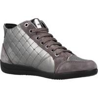 Zapatos Mujer Zapatillas altas Geox D MYRIA Gris