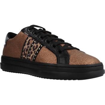 Zapatos Mujer Zapatillas bajas Geox D PONTOISE Marron