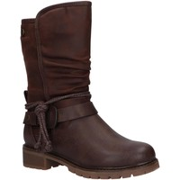 Zapatos Niña Botas urbanas Xti 57399 Marr?n