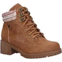 Zapatos Niña Botines Xti 56624 Marr?n