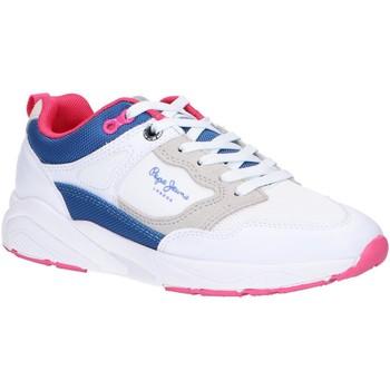 Zapatos Niña Multideporte Pepe jeans PGS30445 ORBITAL Blanco
