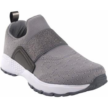 Zapatos Mujer Slip on B&w Zapato señora  28111 gris Gris