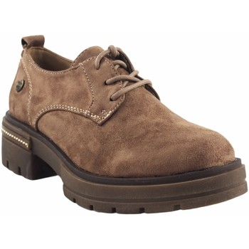 Zapatos Mujer Derbie Olivina Zapato señora BEBY 19001 taupe Marrón