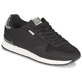 Zapatos Mujer Zapatillas bajas Only SAHEL 4 Negro / Plata