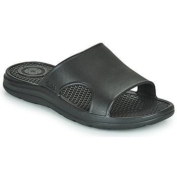 Zapatos Hombre Chanclas Isotoner MONA Negro
