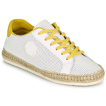Zapatos Mujer Alpargatas Pataugas PALOMA F2F Blanco / Amarillo