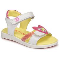 Zapatos Niña Sandalias Agatha Ruiz de la Prada AITANA Blanco