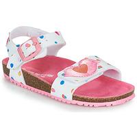 Zapatos Niña Sandalias Agatha Ruiz de la Prada BIO Blanco