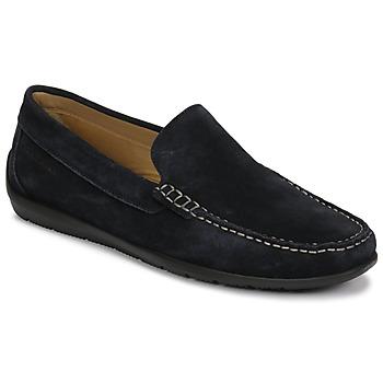 Zapatos Hombre Mocasín Lumberjack LEMAN Marino
