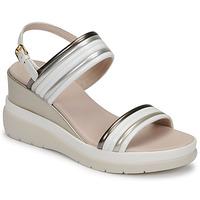 Zapatos Mujer Sandalias Lumberjack ELAINE Blanco / Beige