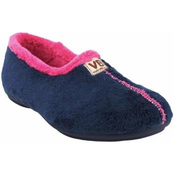 Zapatos Mujer Pantuflas Vulca Bicha Ir por casa señora  4306 azul Azul