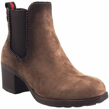 Zapatos Mujer Botas de caña baja Olivina Botín señora BEBY 19025 taupe Marrón