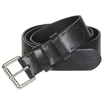 Accesorios textil Hombre Cinturones Polo Ralph Lauren OFFC PLQ RLR-CASUAL-SMOOTH LEATHER Negro