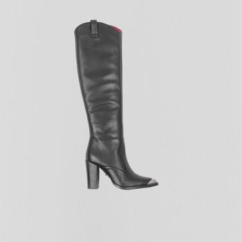 Zapatos Mujer Botas urbanas Bronx Bottes femme  New-Americana noir