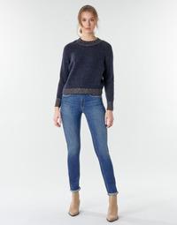 textil Mujer Vaqueros rectos Le Temps des Cerises PULP HIGHREG Azul / Claro
