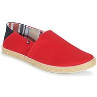 Zapatos Hombre Alpargatas Tommy Hilfiger EASY SUMMER SLIP ON Rojo
