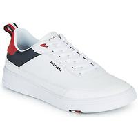 Zapatos Hombre Zapatillas bajas Tommy Hilfiger MODERN CUPSOLE LEATHER Blanco