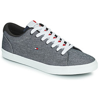 Zapatos Hombre Zapatillas bajas Tommy Hilfiger ESSENTIAL CHAMBRAY VULCANIZED Gris