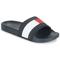 Zapatos Hombre Chanclas Tommy Hilfiger ESSENTIAL FLAG POOL SLIDE Marino