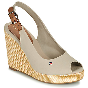 Zapatos Mujer Sandalias Tommy Hilfiger ICONIC ELENA SLING BACK WEDGE Topotea