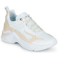 Zapatos Mujer Zapatillas bajas Tommy Hilfiger FASHION WEDGE SNEAKER Blanco