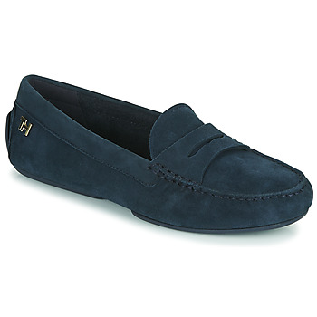 Zapatos Mujer Mocasín Tommy Hilfiger TOMMY ESSENTIAL MOCCASIN Marino