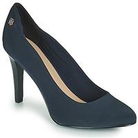 Zapatos Mujer Zapatos de tacón Tommy Hilfiger TOMMY ESSENTIAL HIGH HEEL PUMP Marino