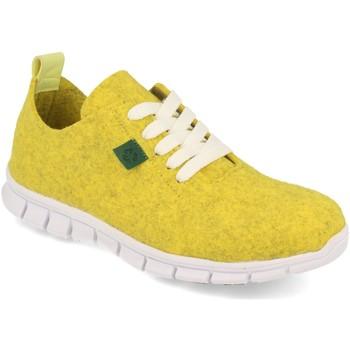 Zapatos Mujer Zapatillas bajas Cdn ECO01 Amarillo