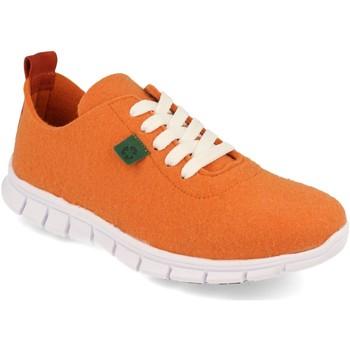 Zapatos Mujer Zapatillas bajas Cdn ECO01 Naranja