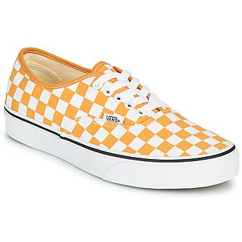 Zapatos Mujer Zapatillas bajas Vans AUTHENTIC Amarillo
