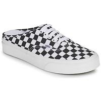 Zapatos Zuecos (Mules) Vans AUTHENTIC MULE Negro / Blanco